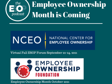 Mini-cast 146: Employee Ownership Month is Coming