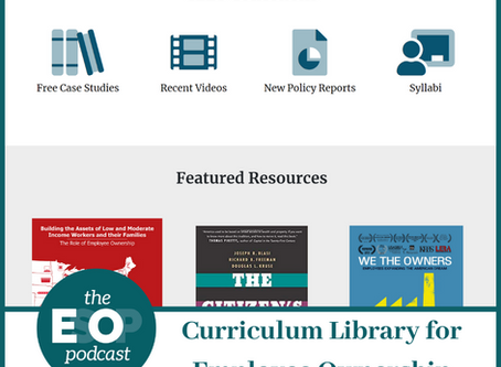 Mini-cast 100: Curriculum Library for Employee Ownership