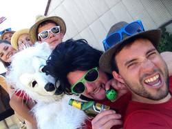 "Broche de Jeunesse - Selfie ""Ours"""
