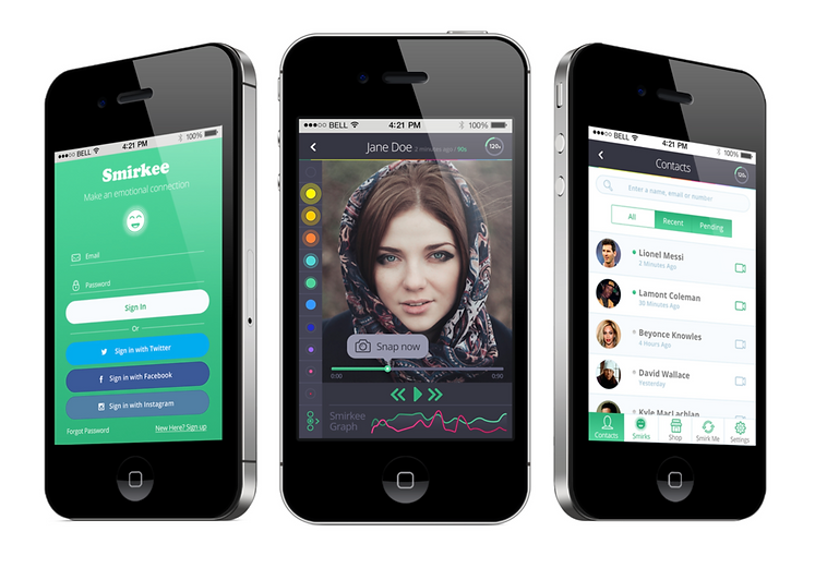Smirkee Emotion Recognition Video Chat App