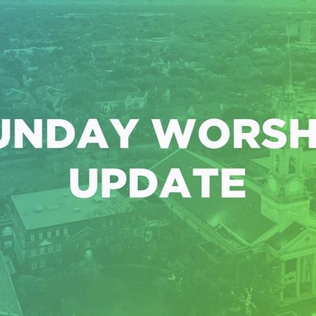 Important Sunday Update