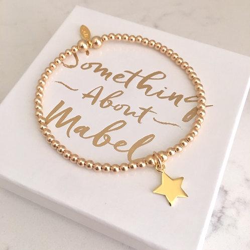 Classic Gold Star Bracelet