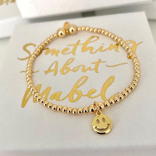 Classic Gold Smile Bracelet