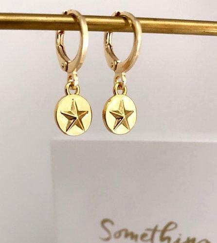 Stellar Gold Earrings