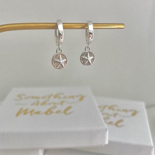Stellar Silver Earrings