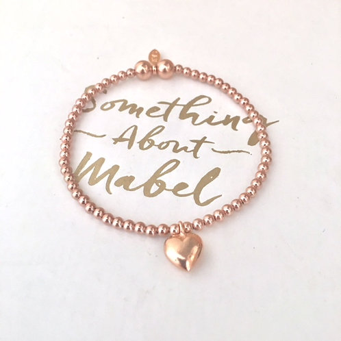 Classic Rose Gold Love Bracelet