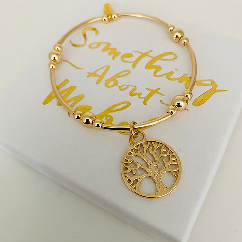 Marlowe Tree Of Life Bracelet - Gold