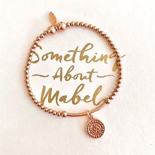Namaste Rose Gold Bracelet