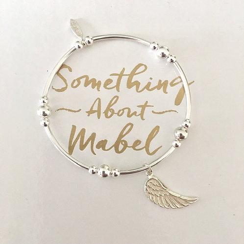 Marlowe Silver Wing Bracelet