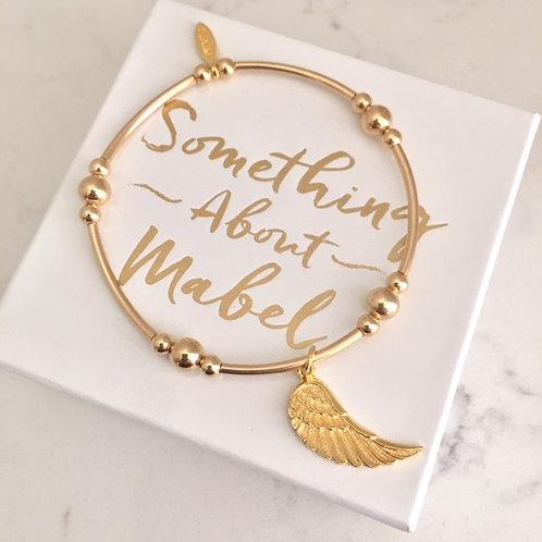 Marlowe Gold Wing Bracelet