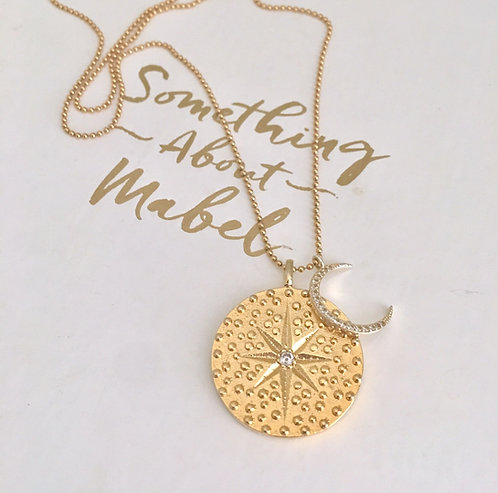 Cosmic Gold Necklace