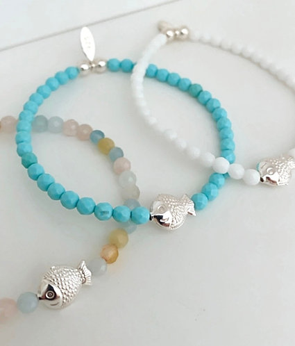 Little Fishy Bracelet - Options Available