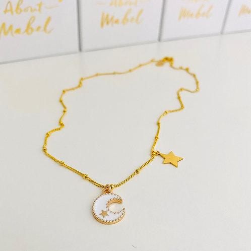 Luna Necklace - White