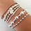 Thumbnail: Rose Mixed Band Bracelet