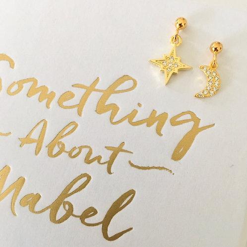 Gold Stardust Earrings