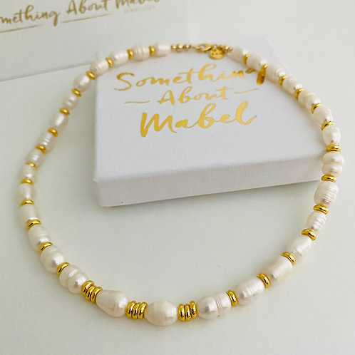 Cloud 9 Pearl Necklace