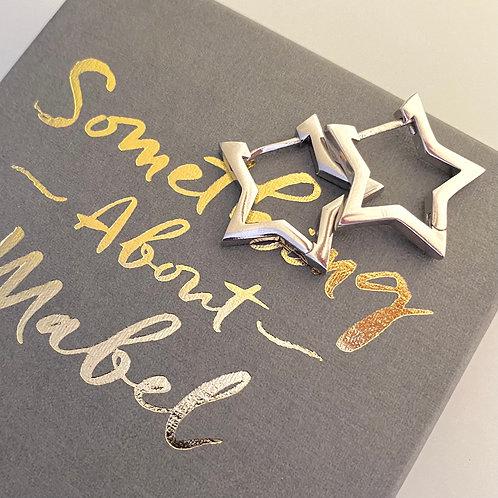 Stargazer Earrings - Silver
