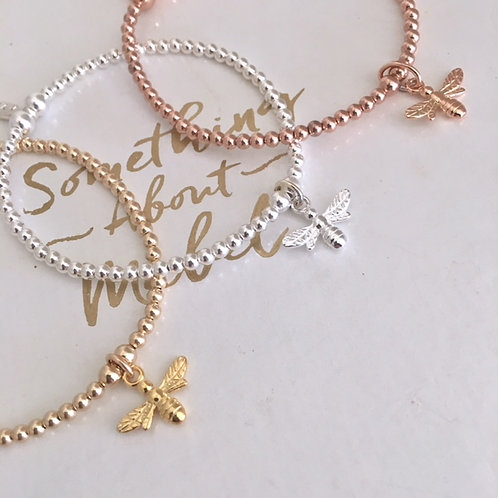 Bee Happy Bracelet - Options Available