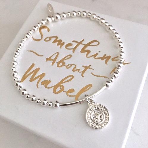 Namaste Silver Bracelet