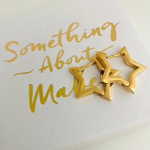 Stargazer Earrings - Gold