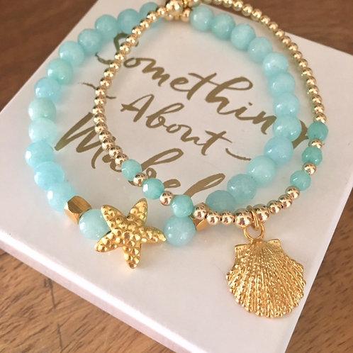 Antibes Gold Bracelet Stack
