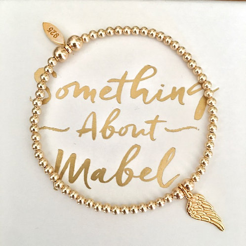 Classic Gold Wing Bracelet