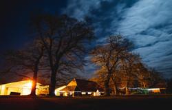 Red Barn Norfolk wedding night