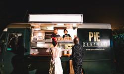 Pie Central food van wedding