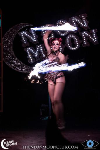 Coeur Du Plume - Fire - Neon Moon - Cambridge Junction