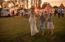 Teepee Festival Wedding
