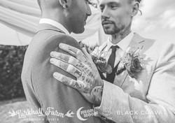 Same Sex Wedding Tattooed Hand