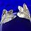 Thumbnail: Hawthorn stud earrings