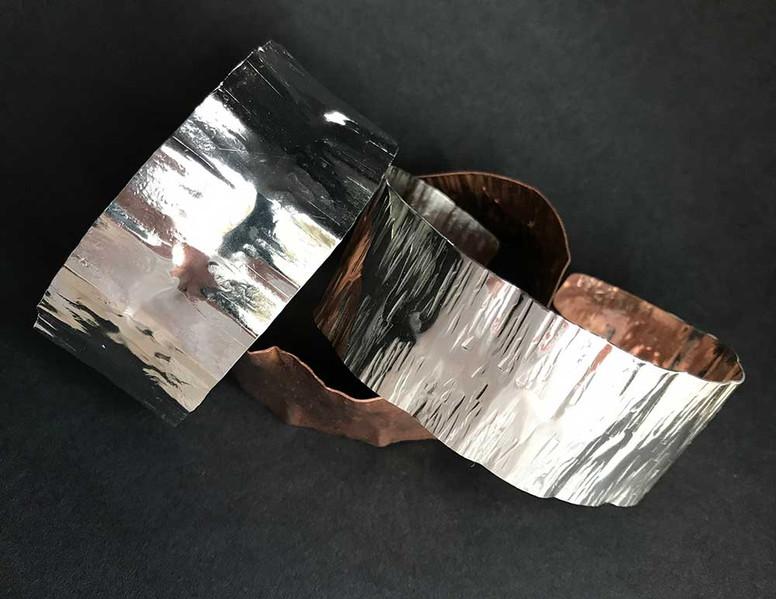 Silver & Copper Bangles