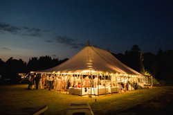 Open Sided Wedding Marquee