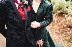 Wonderland Bride and Groom