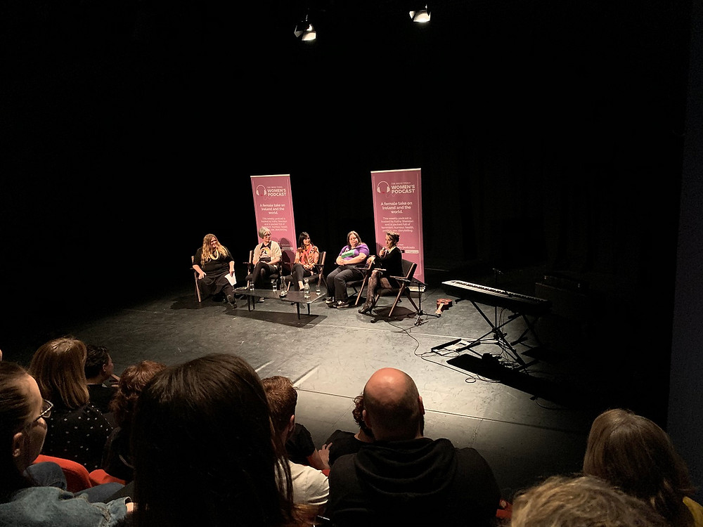 Amanda Palmer and the pro-choice panel at the MAC