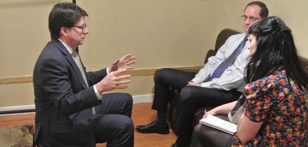 Making a Murderer's Dean Strang and Jerry Buting, interviewed by Laura Kelly