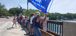 Boat parade protest
