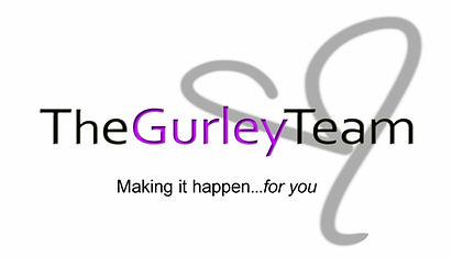 Gurley Team logo indent making it happen