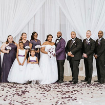 The Browns wedding party!