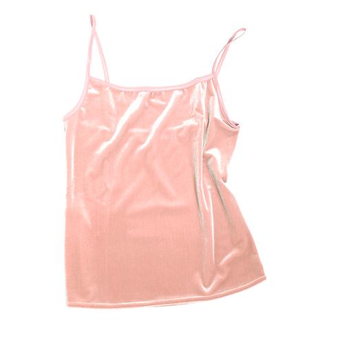 VELVET TANK - light pink