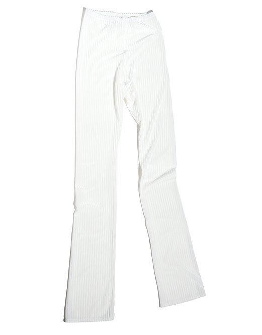 RIB Velvet FLAIR LEG - black & white