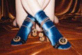 Velvet Socks aqua
