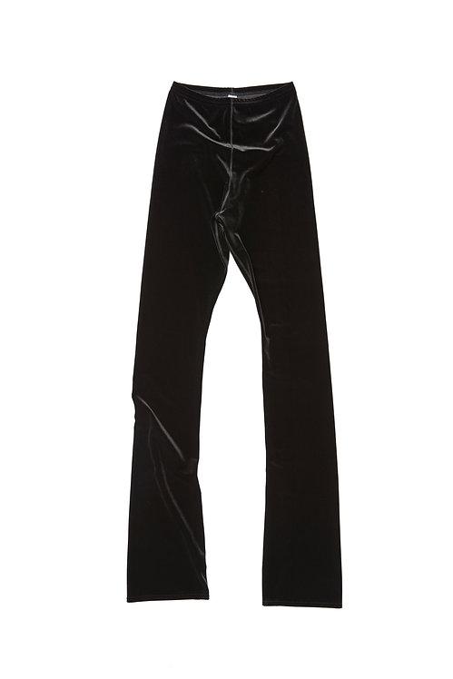 Velvet FLAIR LEG PANTS - black