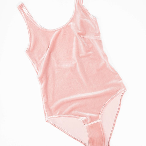 VELVET BODY GIRL - light pink