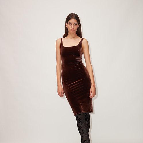 Velvet DRESS DINA - several colors