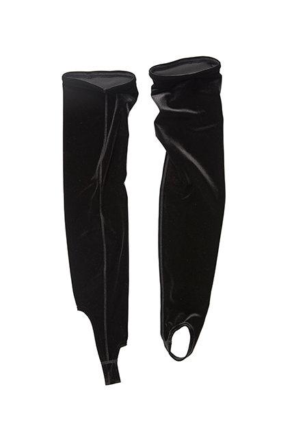 Velvet AEROBIC SOCKS  - black