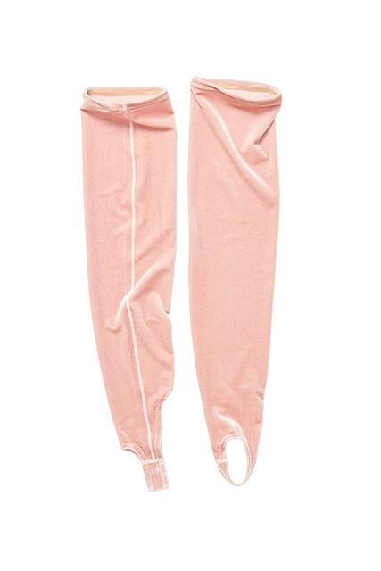 Velvet AEROBIC SOCKS  - light pink