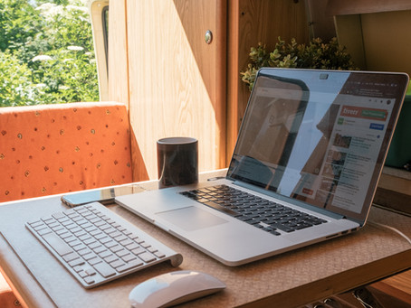 "Tips for Working from ""Home"" in a Van"