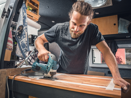 To DIY or hire a professional? The pros and cons of campervan building